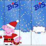 Rótulo Bis Peppa Pig Natal