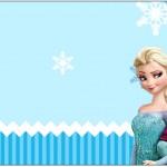 Rótulo Caixa Bombom Frozen Azul
