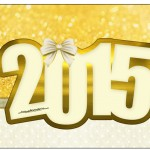 Rótulo Champagne,Vinho Espumante Ano Novo 2015