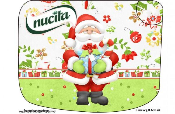 Rótulo Creminho Nucita Natal