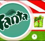 Rótulo Fanta Natal Vermelho e Verde