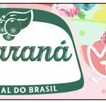 Rótulo Guaraná Caçulinha Passarinho Vintage Rosa e Verde