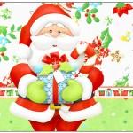Rótulo Lata de Leite Natal