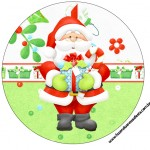 Rótulo Latinha,Toppers e Tubetes Natal