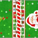 Rótulo Mini Talento Natal Vermelho e Verde