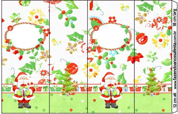Rótulo Nescauzinho Natal