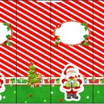 Rótulo Nescauzinho Natal Vermelho e Verde