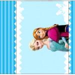 Rótulo Pé de Moleque Yoki Frozen AzulRótulo Pé de Moleque Yoki Frozen Azul