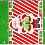 Rótulo Pé de Moleque Yoki Natal Vermelho e Verde