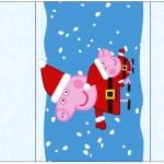 Rótulo Pé de Moleque Yoki Peppa Pig Natal