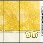 Rótulo Pirulito Mastigável Ano Novo 2015