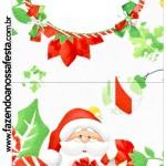 Rótulo Pirulito Natal