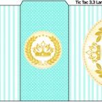 Rótulo Tic Tac Coroa de Príncipe Verde
