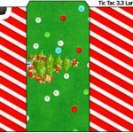 Rótulo Tic Tac Natal Vermelho e Verde