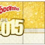 Rótulo Toddynho Ano Novo 2015