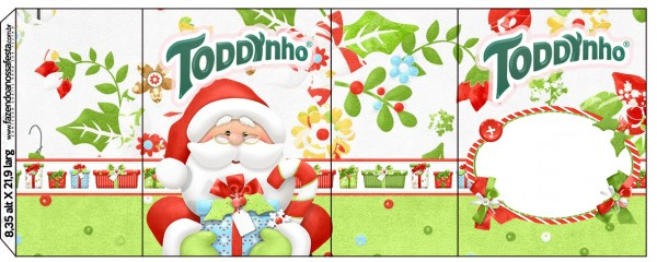 Rótulo Toddynho Natal