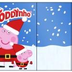 Rótulo Toddynho Peppa Pig Natal