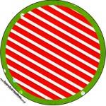 Rótulo Tubetes, Latinhas e Toppers Natal Vermelho e Verde