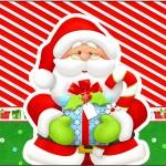 Rótulo Tubetes Natal Vermelho e Verde