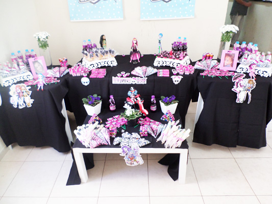 Ideia Festa Monster High