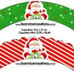 Saias Wrappers Natal Vermelho e Verde