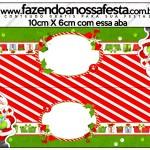 Saquinho de Balas Natal Vermelho e Verde
