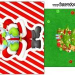 Saquinho de Chá Natal Vermelho e Verde