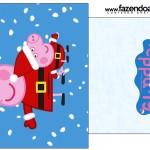 Saquinho de Chá Peppa Pig Natal