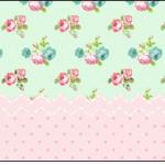 Squezze Floral Verde e RosaSquezze Floral Verde e Rosa