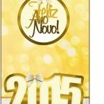 Tag Agradecimento Ano Novo 2015.