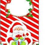 Tag Agradecimento Natal Vermelho e Verde