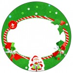 Toppers Natal Vermelho e Verde