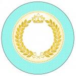 Tubetes Coroa de Príncipe Verde