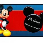 Kit Cinema Festa Mickey Mouse