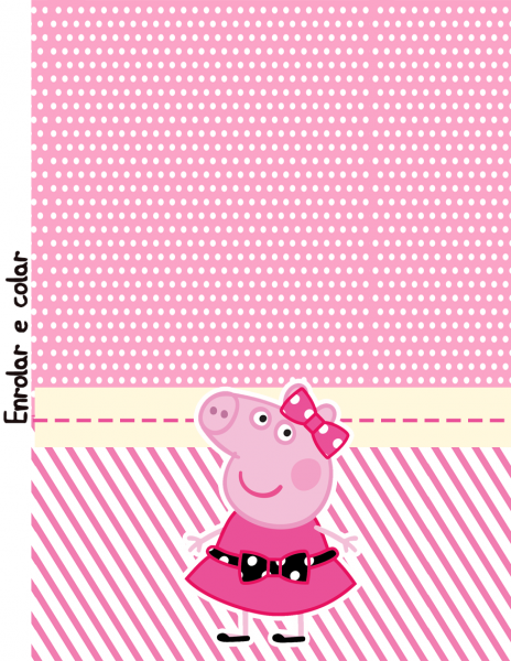 Bisnaga Brigadeiro Miss Peppa Pig