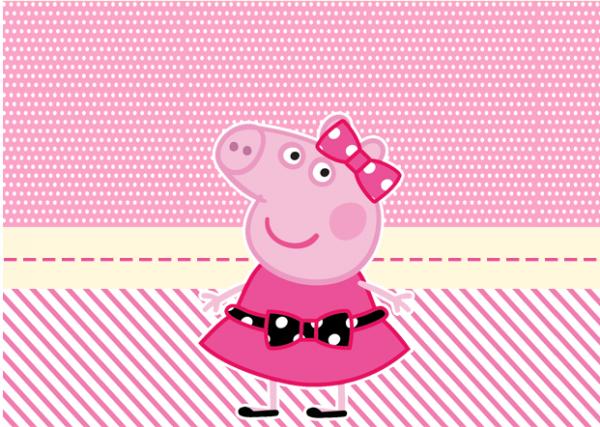 Bolinha de Sabão Miss Peppa Pig