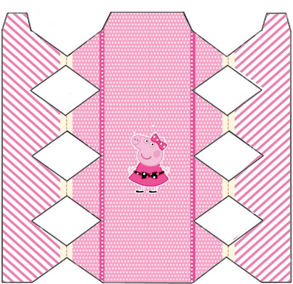 Caixa Bala Miss Peppa Pig