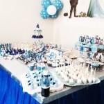 Decoração Mesa Festa Frozen