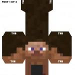 Boneco 3D Gigante Minecraf