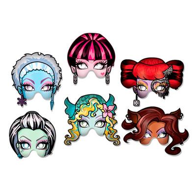 Máscaras para Lembrancinha Monster High