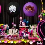 Ideia para festa Monster High!