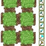 Moldes Festa Minecraft