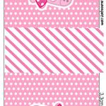 Rótulo Tic Tac Miss Peppa Pig