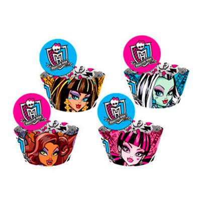 Saias Wrappers para Cupcakes