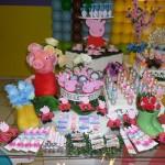 Doces Festa Peppa Pig da Isabella
