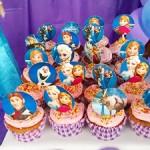 Cupcakes Festa Frozen da Maria Luisa