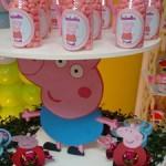 Potinhos com Balinhas Festa Peppa Pig da Isabella