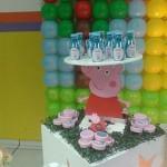 Latinhas Festa Peppa Pig da Isabella