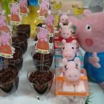 Copinho de Brigadeiro Festa Peppa Pig da Isabella