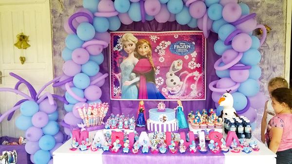Festa Frozen da Maria Luisa